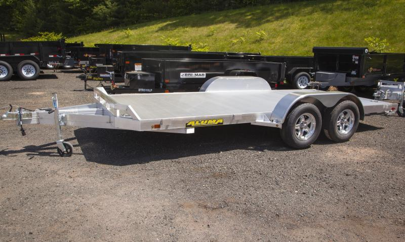 2018 Aluma 8216 Car / Racing Trailer