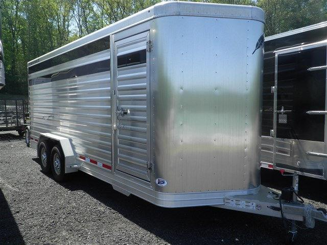 2015 Featherlite 8107-0020 Stock Trailer