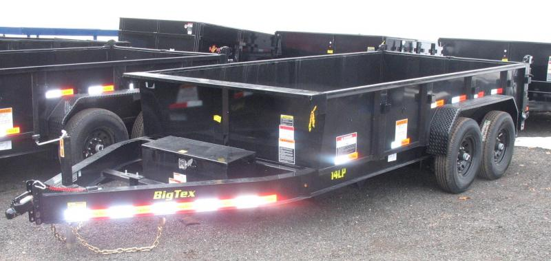 2018 Big Tex Trailers 14LP-14BK7SIRPD Dump Trailer