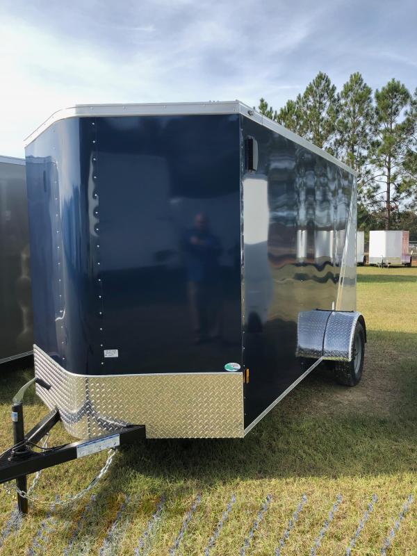 2019 Forest River 6x12 Two Tone Enclosed Cargo Trailer