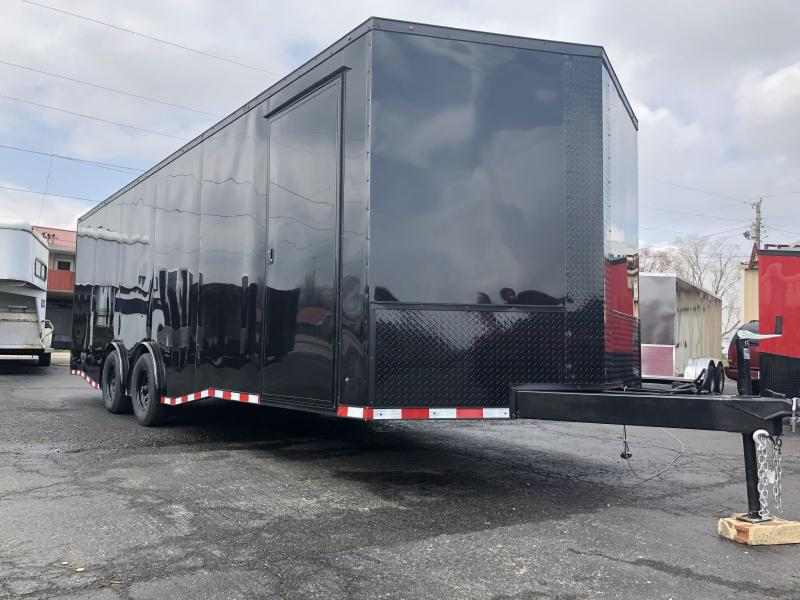 2019 Eagle Trailer 8.5x24TA3 5200 lb Spread Axle Car / Racing Trailer
