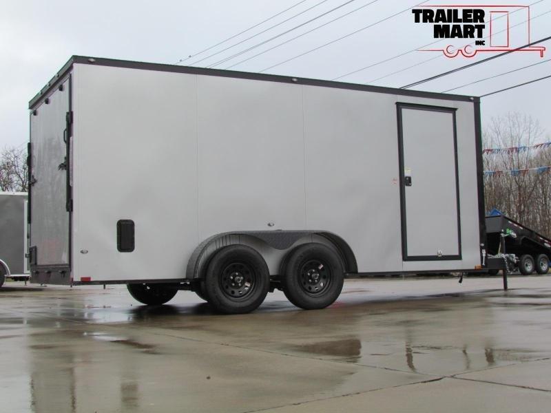 2020 Spartan 7X16 Commercial Grade 3 in 1 Enclosed Trailer