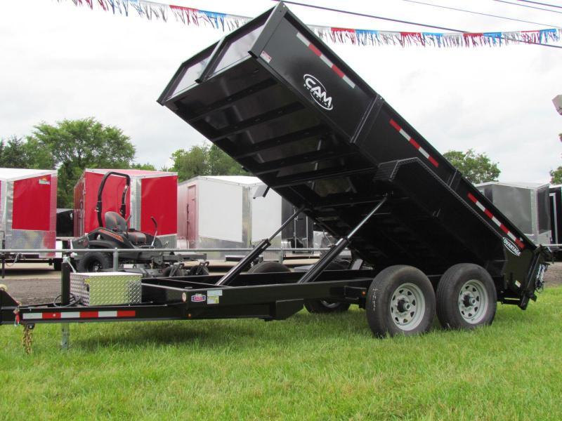 2019 Cam Superline Advantage 7x14 7 Ton Dump Trailer