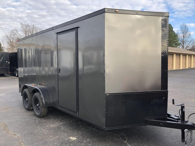 2019 Eagle Trailer 7x16TA Blackout Enclosed Cargo Trailer