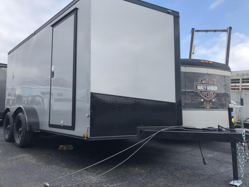 2019 Spartan 7x14 Blackout Edition Enclosed Cargo Trailer