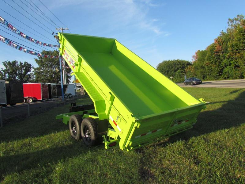 2019 Midsota HV-14 7x14 Dump Trailer