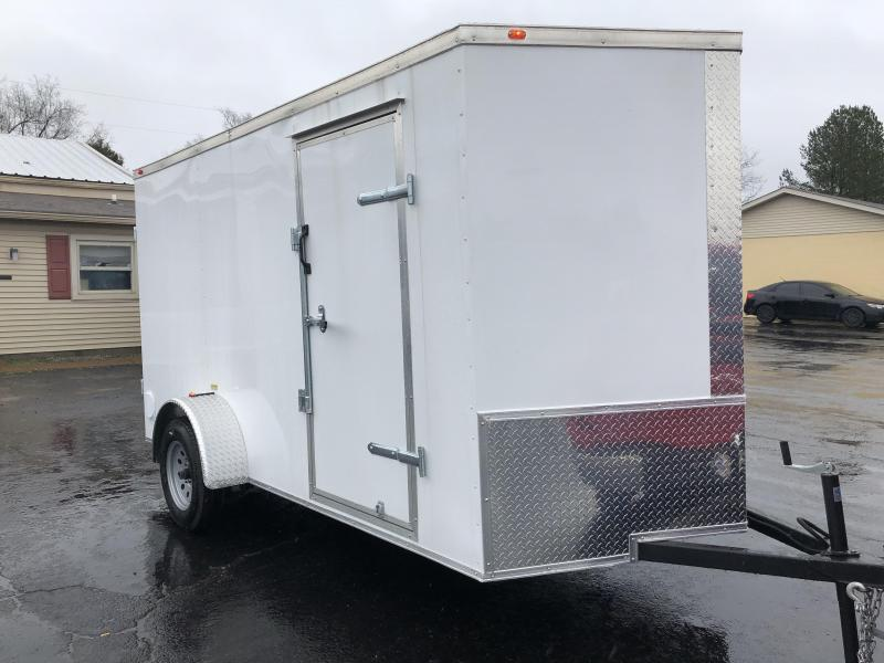 2019 Eagle Trailer 6x12SA Enclosed Cargo Trailer
