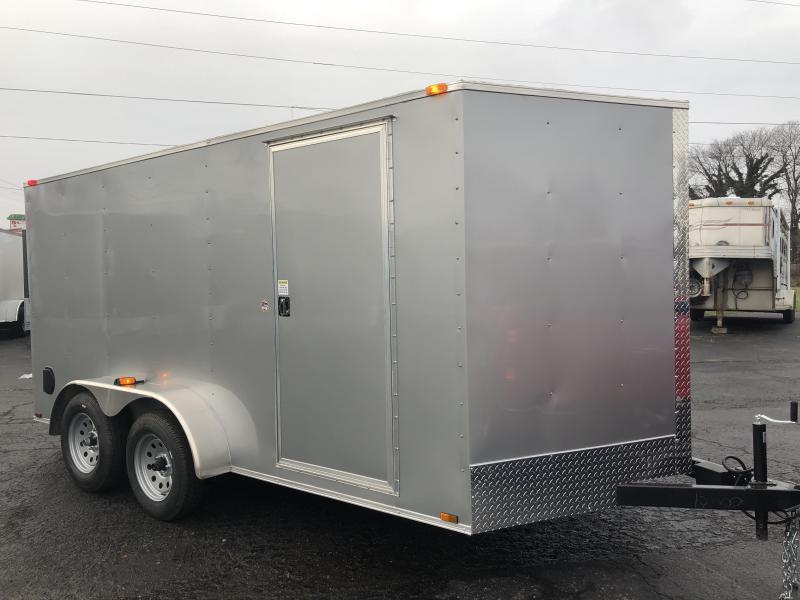 2019 Spartan Warrior 7x14TA Enclosed Cargo Trailer