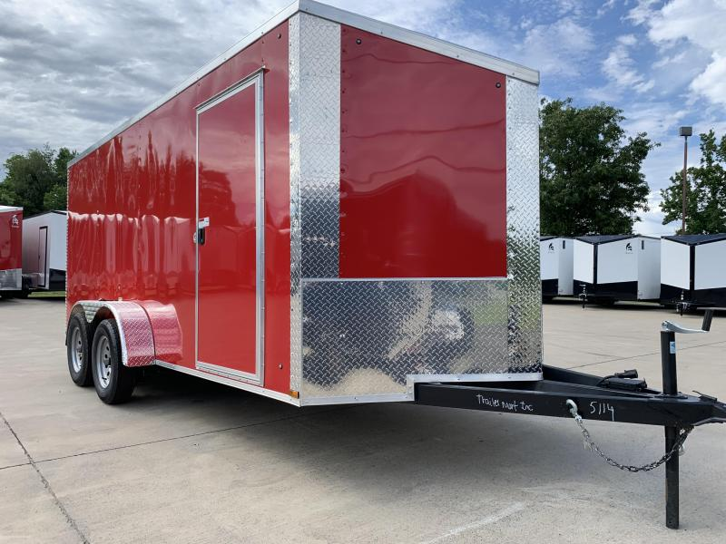 2019 ARI 7x16TA Enclosed Cargo Trailer