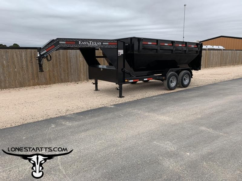 2019 East Texas Gooseneck Roll Off Dump Trailer
