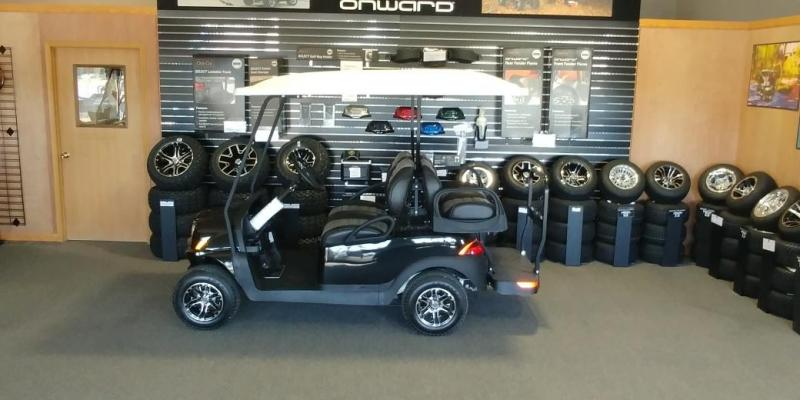 2018 Club Car Onward 4 passenger Gas Golf Car