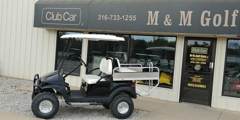 2012 Club Car Lifted Black phantom Refurbished Golf Car