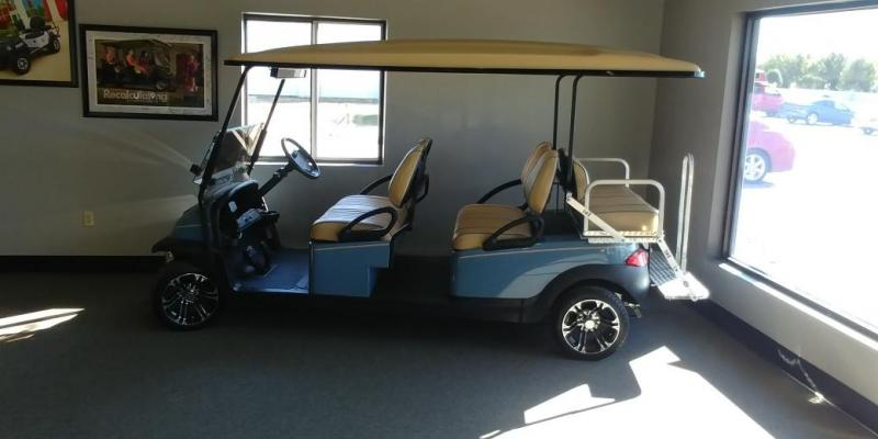 2014 Club Car 6 Passenger Stretch Golf Car