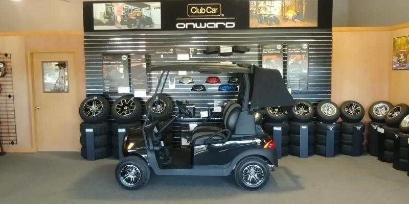 2018 Club Car Onward 2 Passenger Electric Golf Car
