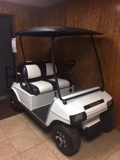 2010 Club Car DS Golf Cart Gas 4 Passenger