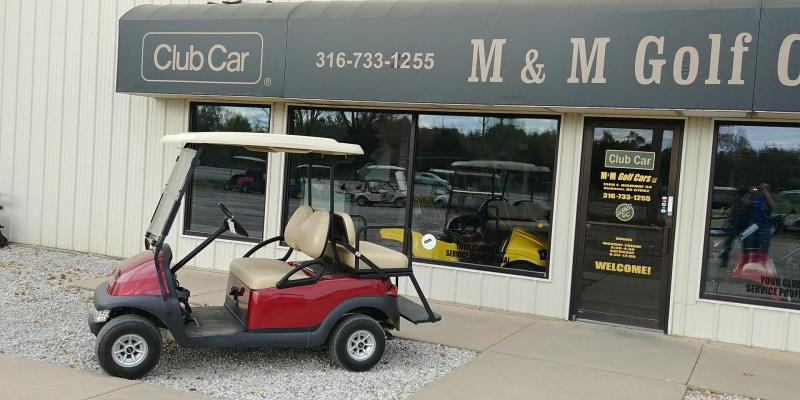 2012 Club Car Precedent 4 Passenger Gas Golf Car