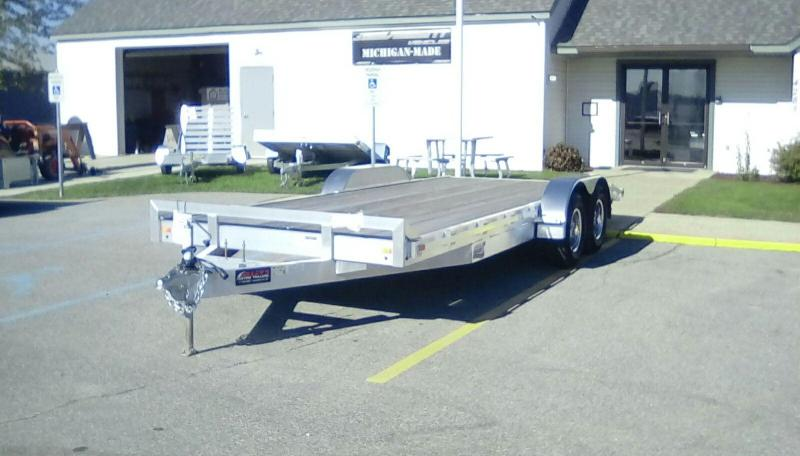2018 American Hauler Industries 7X20 CAR HAULER Equipment Trailer