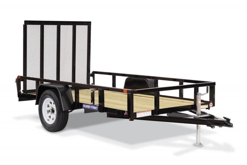 2018 Sure-Trac 6x12 TUBE TOP Utility Trailer