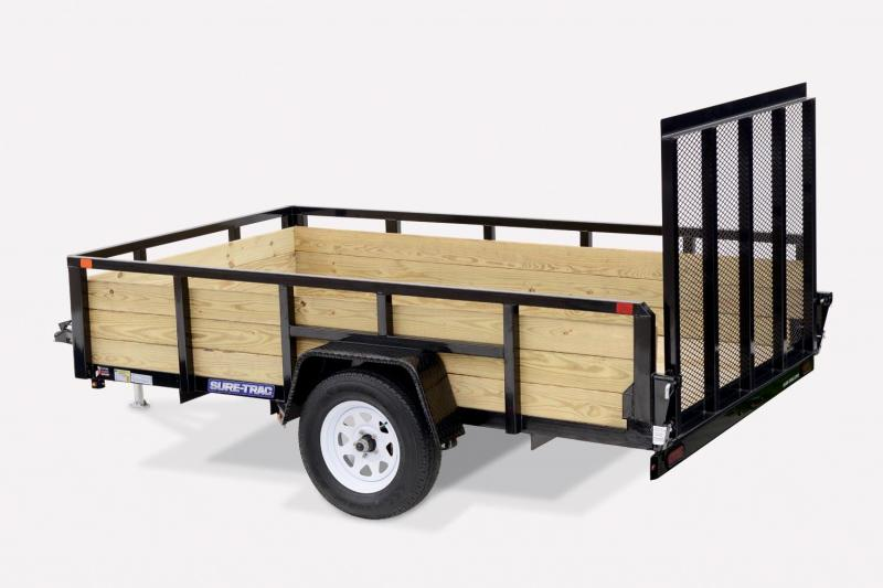 2019 Sure-Trac 6X12 3 Board 7K Utility Trailer