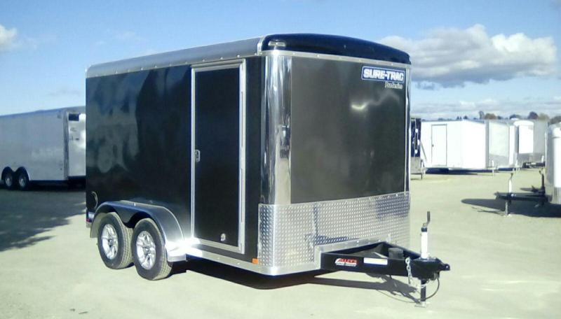 2018 Sure-Trac 7X12 PRO SERIES Enclosed Cargo Trailer