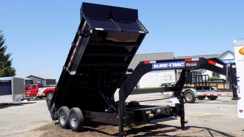 2018 Sure-Trac 82 IN X 14 LP 14K Goose Scissor Dump