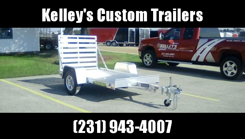 2019 Aluma 5X8 Equipment Trailer