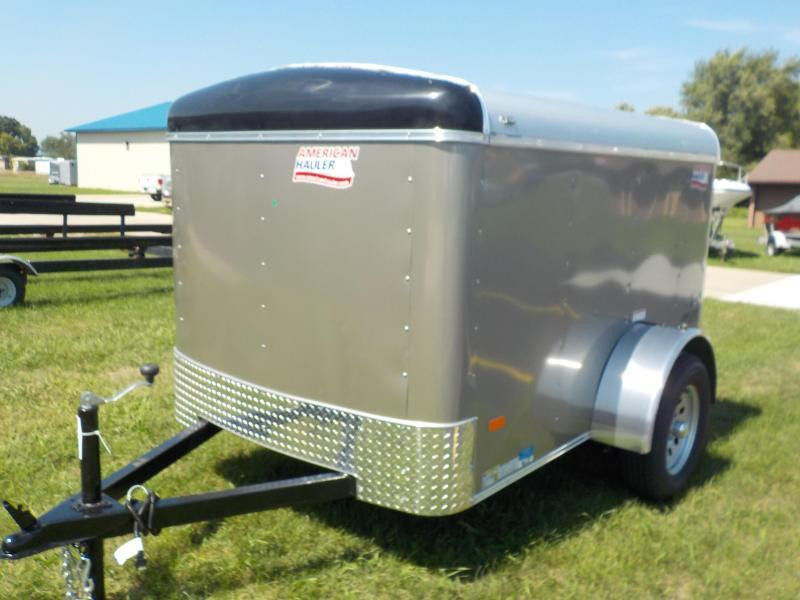 2019 American Hauler Industries 5X8 AIR LITE Enclosed Cargo Trailer