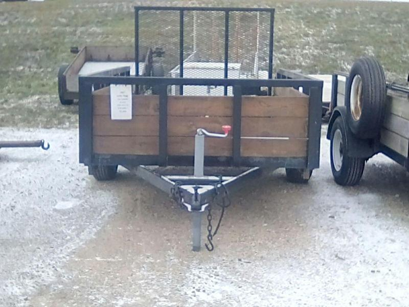 2007 Sure-Trac 5X3 3 BOARD Utility Trailer