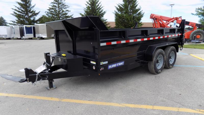 2019 Sure-Trac 82 IN X 12 LProfile Scissor Dump 14K