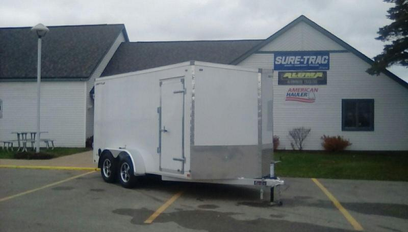 2018 MVM7 METTLE Enclosed Cargo Trailer