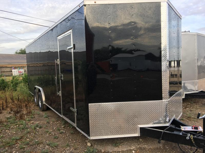 2018 8.5X24TA Enclosed Cargo Trailer