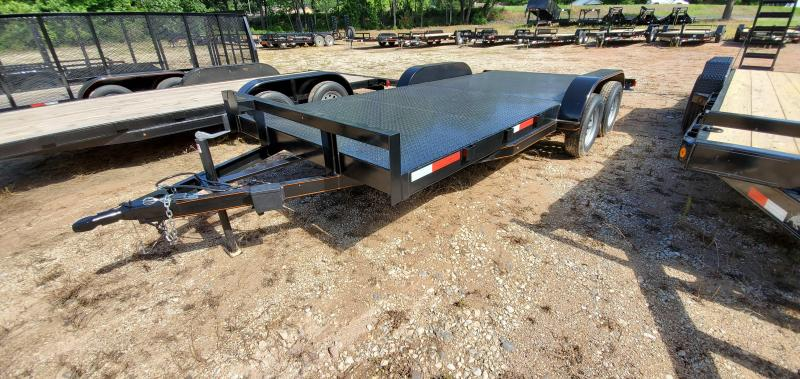2018 Salvation Trailers 83X22 Car Hauler Trailer