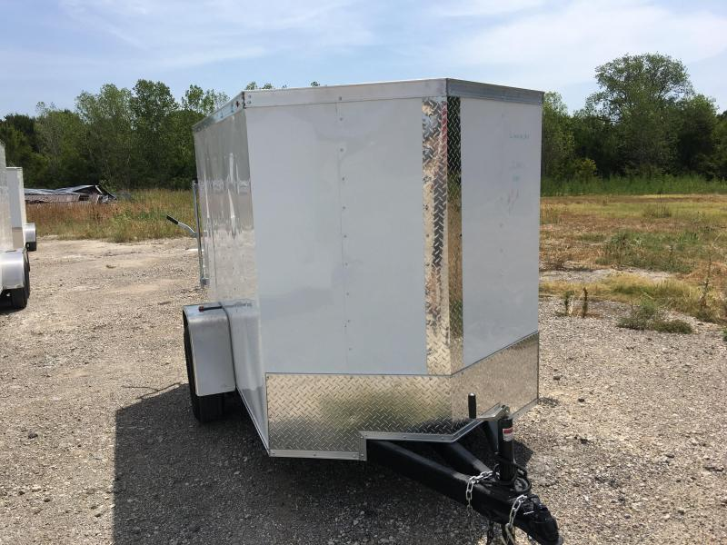 2019 5X8SA Enclosed Cargo Trailer