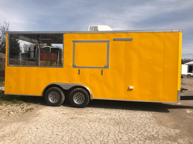 2019 8.5x20 Food PORCH trailer Vending / Concession Trailer