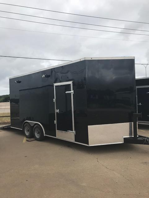 2019 Salvation Trailers Motorcycle Enclosed Cargo Trailer