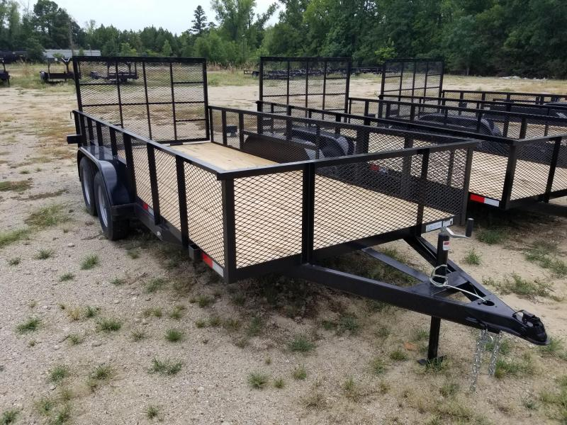 2019 Salvation Trailers 78X16 Flatbed Trailer