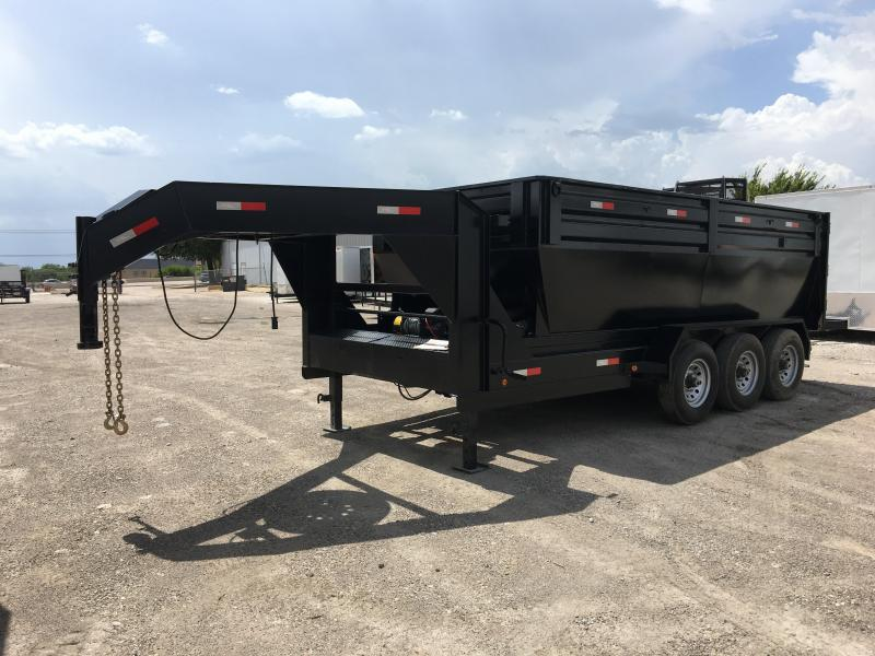 2018 83X16TTA Roll Off Dump Trailer