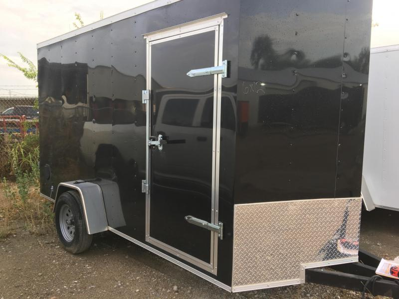 2018 6x12 Enclosed Cargo Trailer