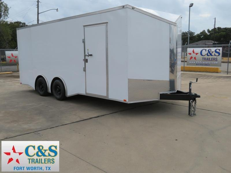 2018 Spartan 8.5 x 20 Enclosed Cargo Trailer
