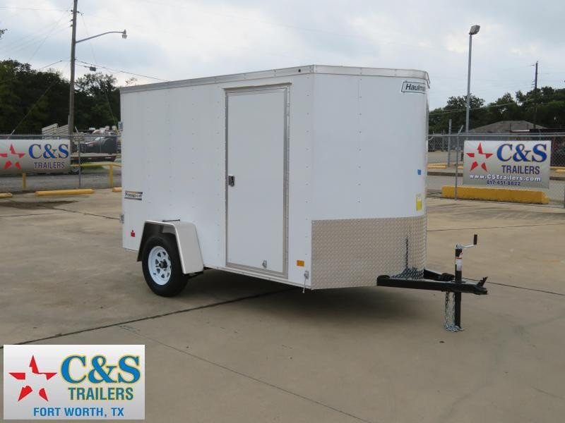 2018 Haulmark 6 x 10 Enclosed Cargo Trailer