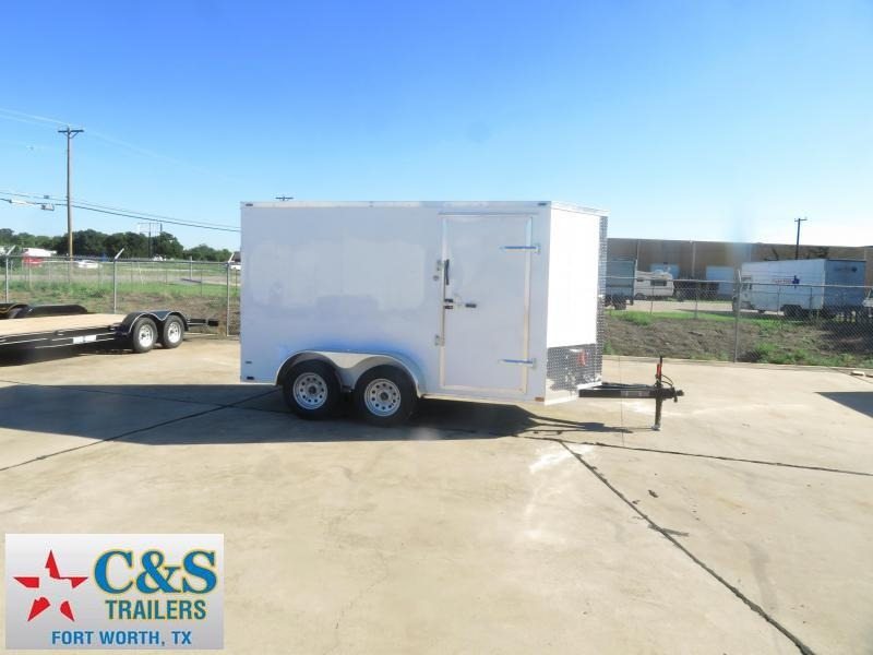 2019 Lark 6 x 12 Enclosed Cargo Trailer