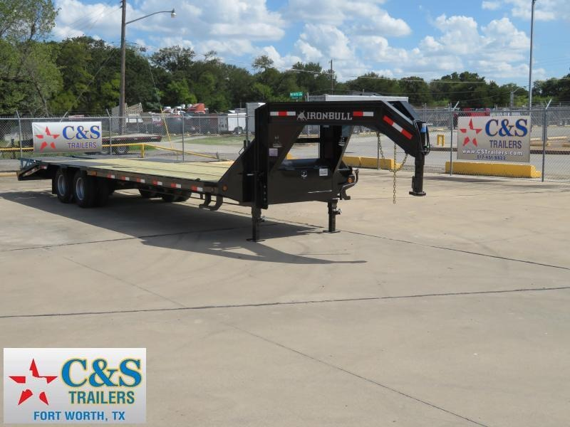 2019 Iron Bull 102 x 30 Flatbed Trailer