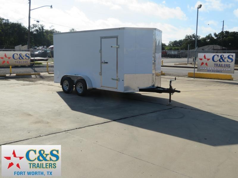 2019 Salvation Trailers 7 x 14 Enclosed Cargo Trailer