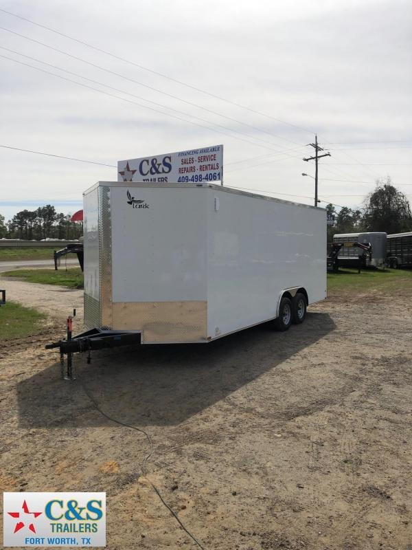 2019 Lark 102x20 BPTA Enclosed Cargo Trailer