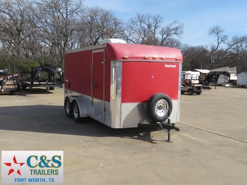 2002 Haulmark 7 x 14 Enclosed Cargo Trailer