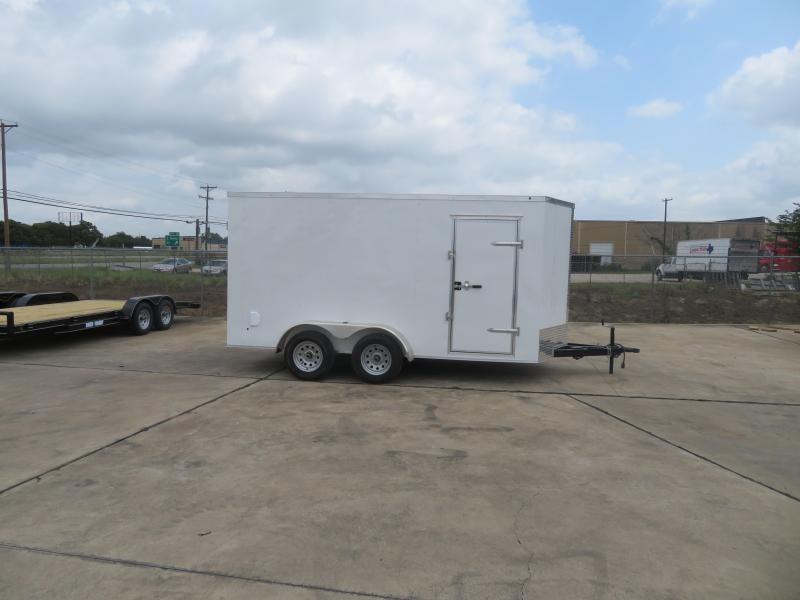2019 Salvation Trailers 7 X 14 TA Enclosed Cargo Trailer