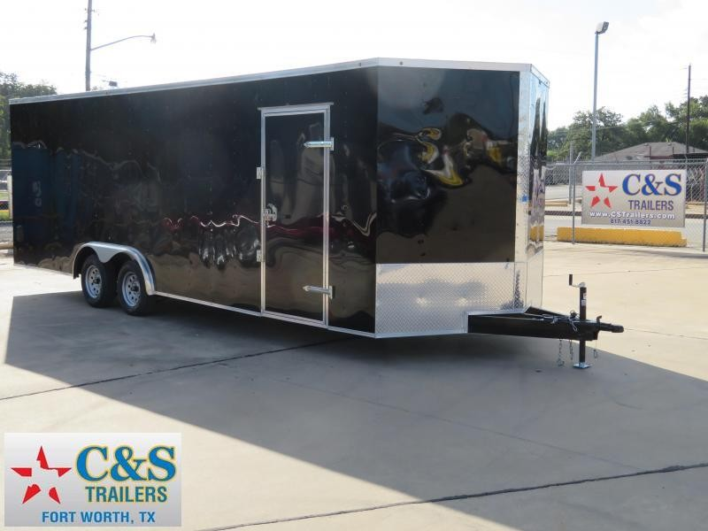 2019 Salvation Trailers 8.5 x 24 Enclosed Cargo Trailer