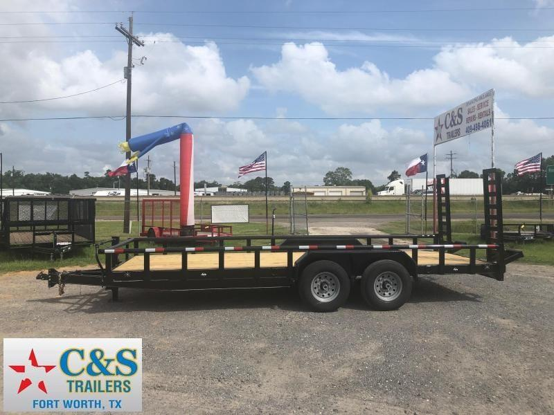 2019 Legacy 83 X 20 Equipment Trailer