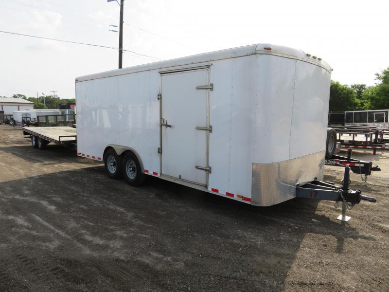 Rental 17 - Wells Cargo 8.5' x 20' Car Hauler