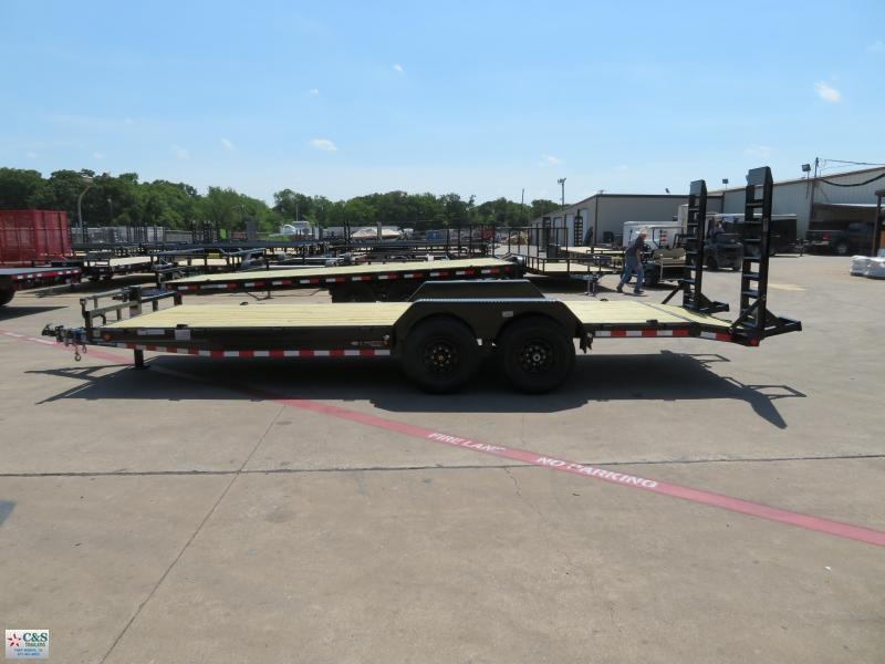 2018 Load Trail 7x22 Equipment Trailer